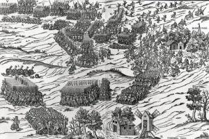 The Battle of Dreux 1562 by J. J. Perrissin & J. Tortorel