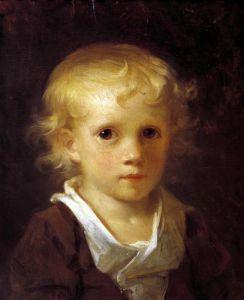 Portrait of a Child by Jean-Honoré Fragonard