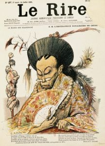 Tz'U-His Empress Dowager of China 1900 by Charles Lucien Leandre