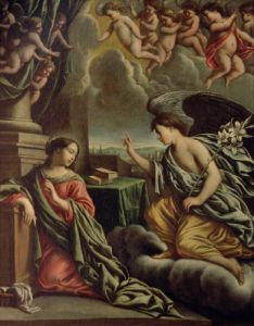 Annunciation by Mathieu Le Nain