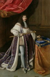 Portrait of Louis XIV by French School