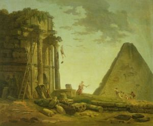 The Accident by Hubert Robert