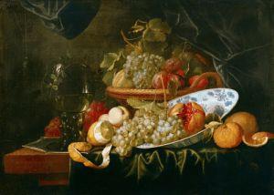 Still Life of Fruit by Alexander Coosemans