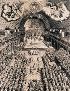 The Estates General at the Theatre Bourbon 1614 by Picquet