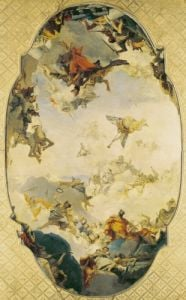 Sketch for The Apotheosis of the Pisani Family 1760 by Giovanni Battista Tiepolo