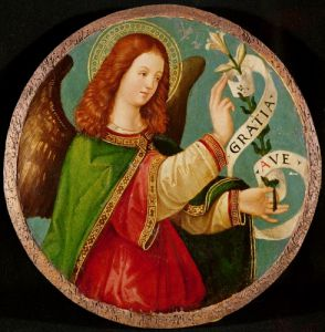 The Angel of the Annunciation by Italian School