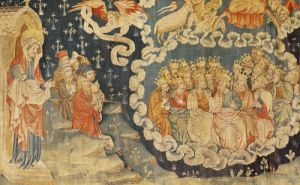 The Ascension of the Lamb 1373 by Nicolas Bataille