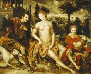 David and Bathsheba 1562 by Jan Massys