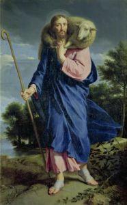 The Good Shepherd c.1650 by Philippe de Champaigne