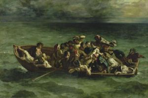 The Shipwreck of Don Juan 1840 by Eugene Delacroix