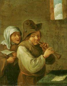 The Old Couple by Adriaen Jansz Van Ostade