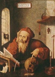 St. Jerome by Gautard de Pezenas