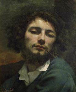 The Man with a Pipe c.1846 by Gustave Courbet
