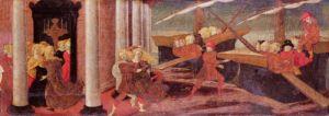The Abduction of Helen c.1470 by Liberale Bonfanti da Verona