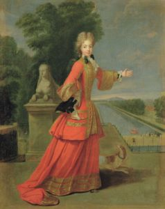 Marie-Adelaide de Savoie in Hunting Dress c.1704 by Pierre Gobert