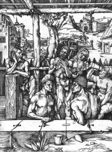 The Men's Bath c.1498 by Albrecht Dürer