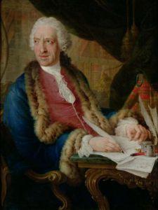 Portrait of a Gentleman 1767 by Louis Gabriel Blanchet