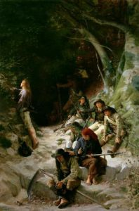 The Ambush by Charles Alexandre Coessin de la Fosse