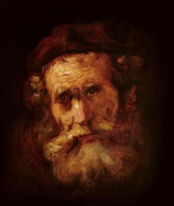 A Rabbi by Rembrandt