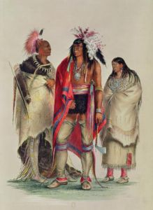 North American Indians c.1832 by George Catlin