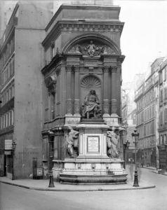 Moliere Fountain 1844 by Ludovico Visconti