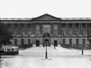 The Colonnade of the Louvre by Claude Perrault