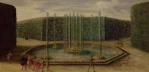 The Fountain of Bacchus at Versailles by French School