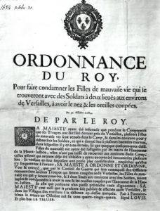 Edict of Louis XIV 1684 by French School