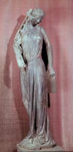 Allegorical figure of The Synagogue c.1230 by French School