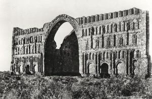 The Palace of Ctesiphon from 'L'Art Antique de la Perse' by Jeanne Dieulafoy