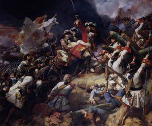 Battle of Denain 1839 by Jean Alaux