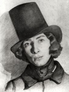 Portrait of Maurice Sand by French School