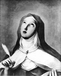 St. Theresa of Avila by Francisco de Goya
