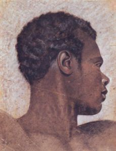 Head of a Negro by Jean-Louis-André-Théodore Géricault