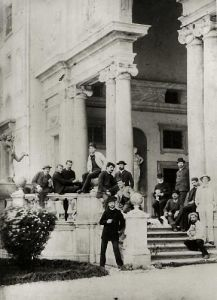 Residents of Villa Medici in Rome by Anonymous