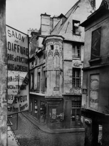 Rue Vieille-du-Temple Paris 1858 by Charles Marville