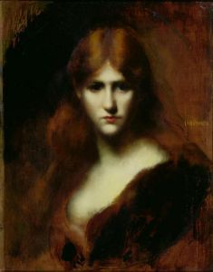 Portrait of a Woman by Jean-Jacques Henner