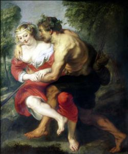 The Gallant Conversation by Peter Paul Rubens