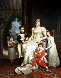 Caroline Bonaparte and her Children by Baron Francois Pascal Simon Gerard