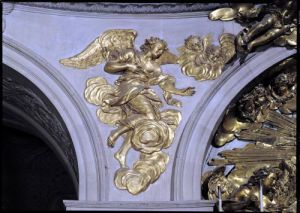 Louis XIV style angel by French School