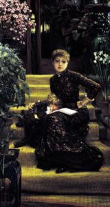 The Older Sister c.1881 by James Jacques Joseph Tissot
