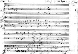 'Cosi Dunque Tradisci...' recitative and aria 1783 by Wolfgang Amadeus Mozart