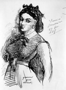 Jeanne Duval 1865 by Charles Pierre Baudelaire