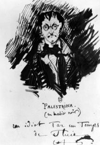 Palestrina in a Black Suit by Charles Pierre Baudelaire