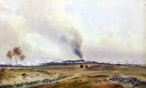 Battle of Iena 1836 by Jean Antoine Simeon Fort
