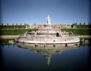Tha Fountain of Latona by Balthazar Marsy