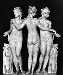 The Three Graces by Roman Art