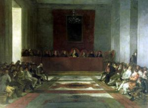 The Junta of the Philippines 1815 by Francisco de Goya
