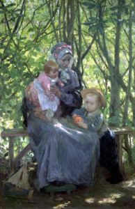 The Grove by Julius Gari Melchers