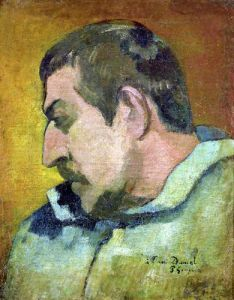 Self Portrait 1896 by Paul Gauguin